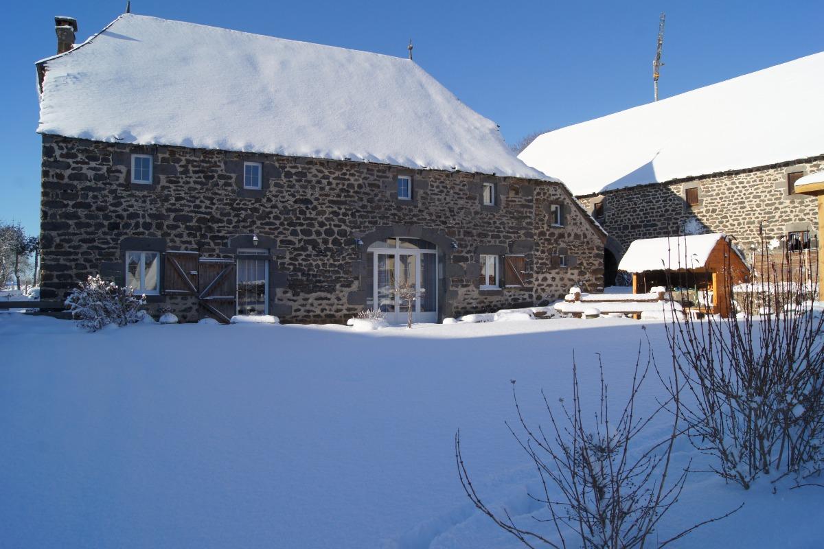 l'extérieur en hiver - Location de vacances - Cussac