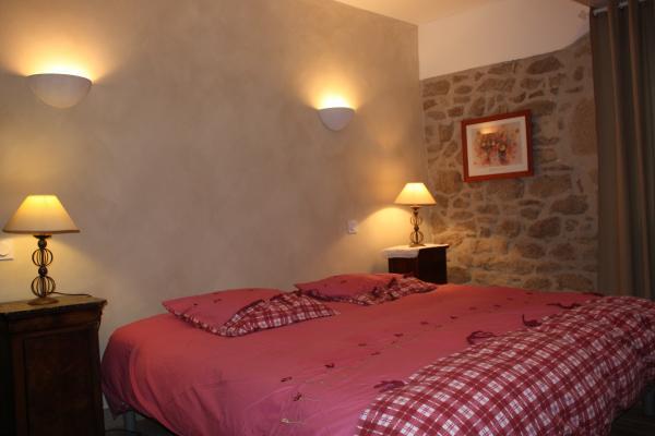 chambre harmonie en lit de 180 cm - Chambre d'hôtes - Rouffiac