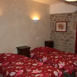 Chambre Harmonie en deux lits de 90cm - Chambre d'hôtes - Rouffiac