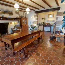Le coin  salon - Chambre d'hôtes - Aurillac