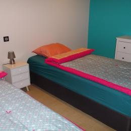 salon salle a manger  - Location de vacances - Sainte-Marie