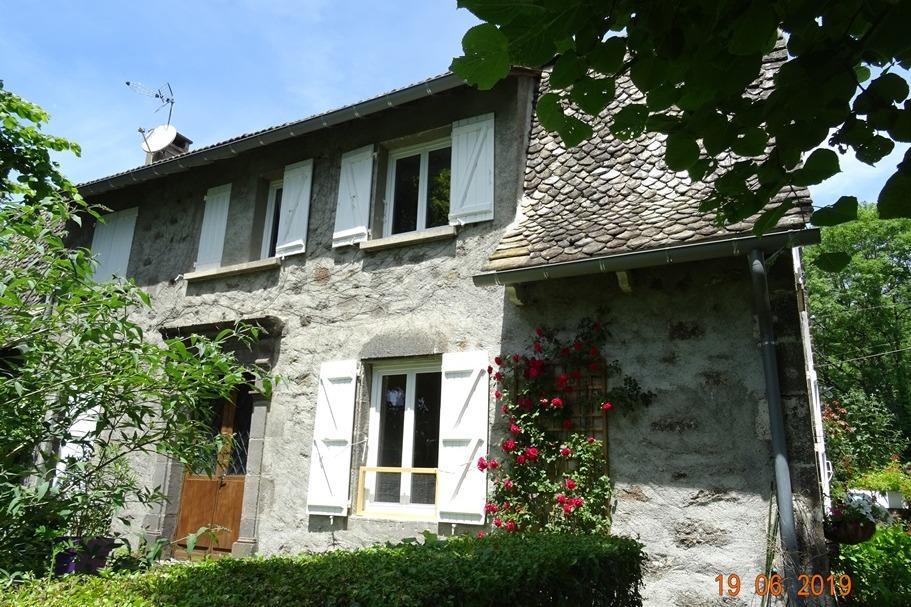 façade sud - Location de vacances - Saint-Cirgues-de-Malbert