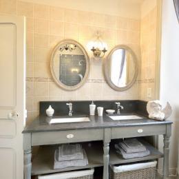 La salle d'eau - Chambre d'hôtes - Talizat
