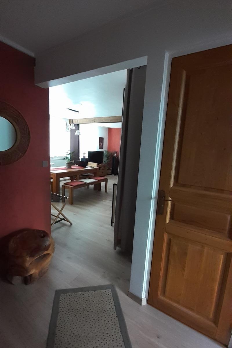 entrée de l'appartement - Location de vacances - Aurillac