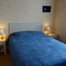 La chambre au rez de chaussée - Beaulieu sur Sonnette - Location de vacances - Beaulieu-sur-Sonnette