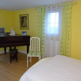 La chambre -  La Pallaine - Puymoyen - Chambre d'hôtes - Puymoyen
