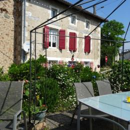La maison d'hôtes rouge volets - Exideuil sur Vienne - Chambre d'hôte - Exideuil