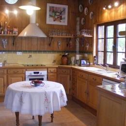 La cuisine - L'arche de la Broue - Lonnes - Location de vacances - Lonnes