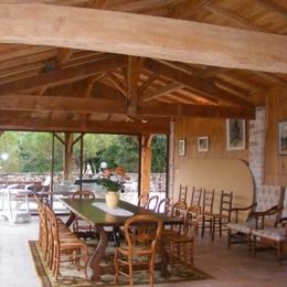 La salle à manger - L'arche de Broue - Lonnes - Location de vacances - Lonnes