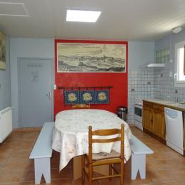 La salle à manger - Ambernac - Location de vacances - Ambernac
