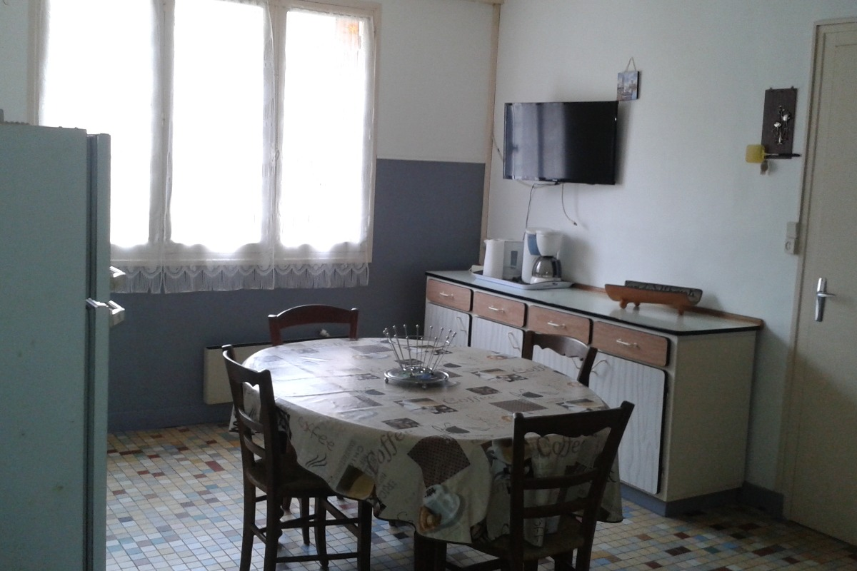 La cuisine - Le moulin de Minet - Guimps - Location de vacances - Guimps