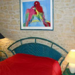 Chambre Cheminée - Location de vacances - Angoulême