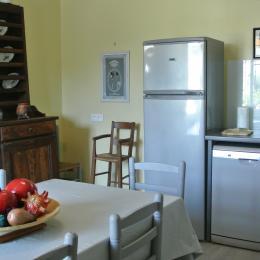 La cuisine - Gîte le Luquet - Chazelles - Location de vacances - Chazelles