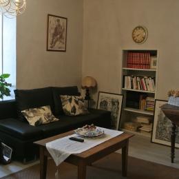 Le salon - Gîte le Luquet - Chazelles - Location de vacances - Chazelles