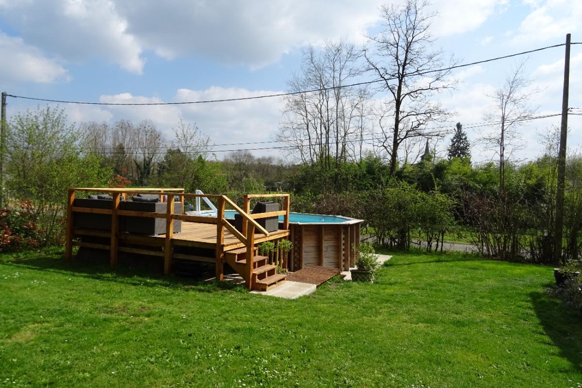 Le jardin - La Garenne - Exideuil - Location de vacances - Exideuil