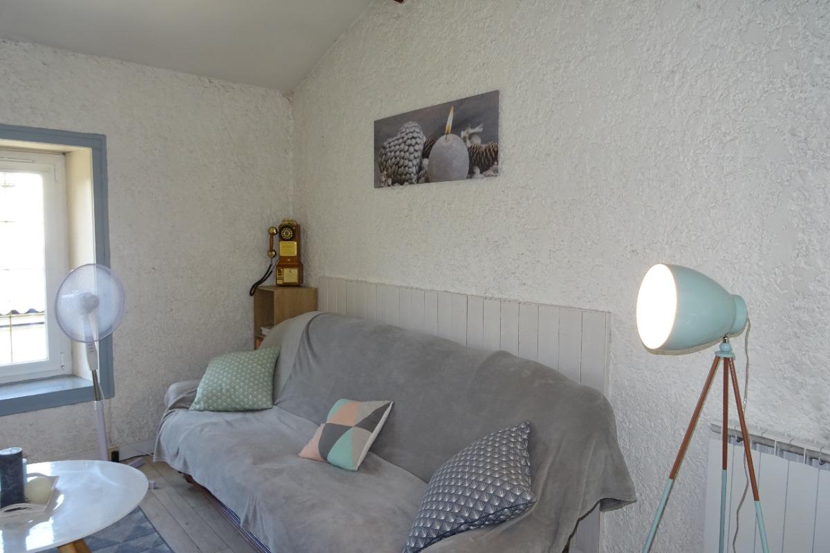 Le salon - La p'tite Cognaçaise - Cognac - Location de vacances - Cognac