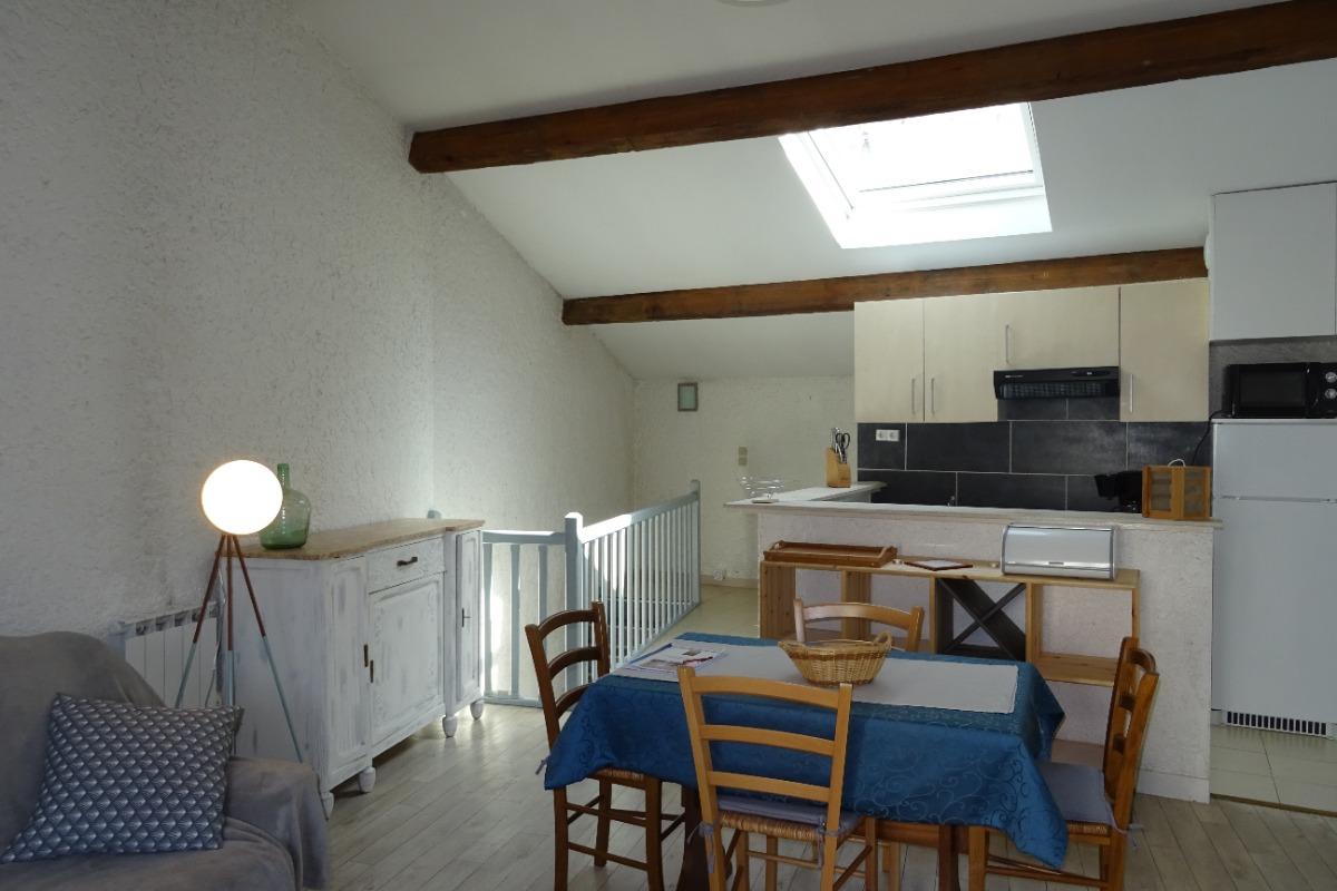 La p'tite Cognaçaise - La salle à manger - Cognac - Location de vacances - Cognac