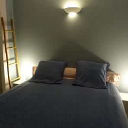 La chambre - La p'tite Cognaçaise - Cognac - Location de vacances - Cognac