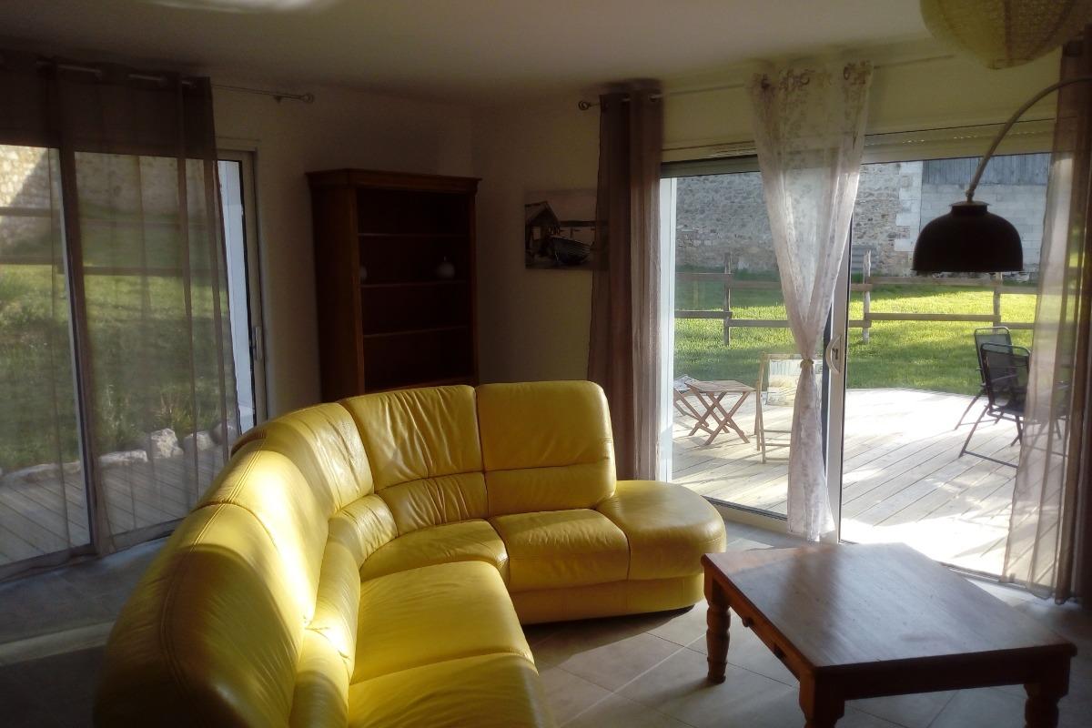 Le salon - Chalet - Sers - Location de vacances - Sers