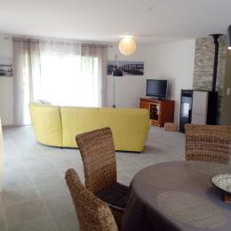 La salle à manger - Chalet - Sers - Location de vacances - Sers