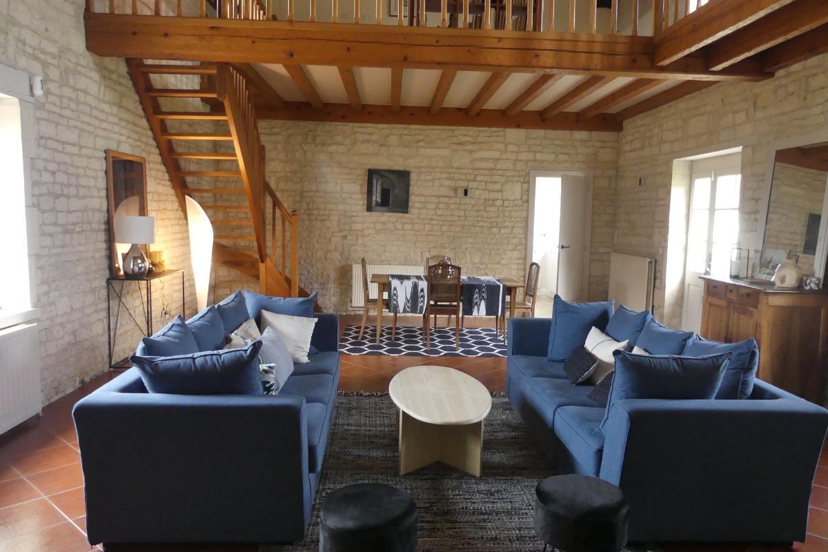 Gîte de caractère à La Péruse en Charente - Location de vacances - Terres-de-Haute-Charente