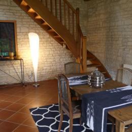 Chambre à l'étage  - Location de vacances - Terres-de-Haute-Charente