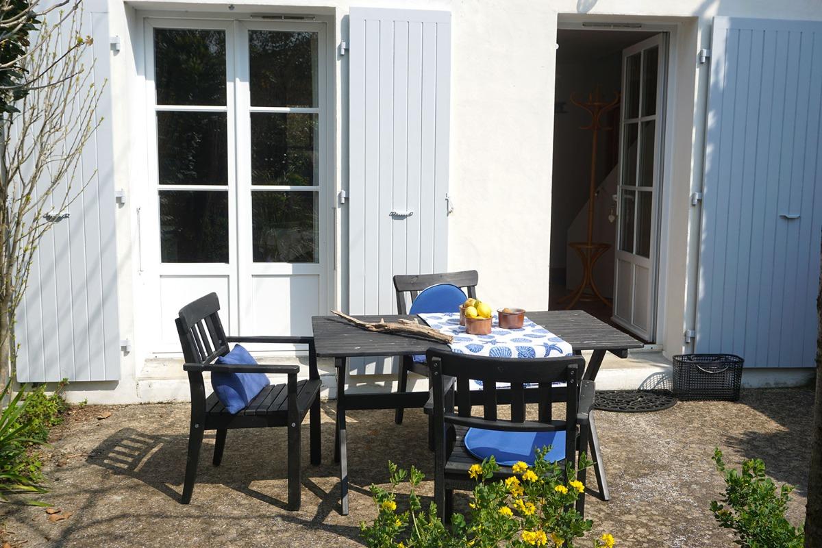 Une terrasse bien agréable - Location de vacances - Fouras