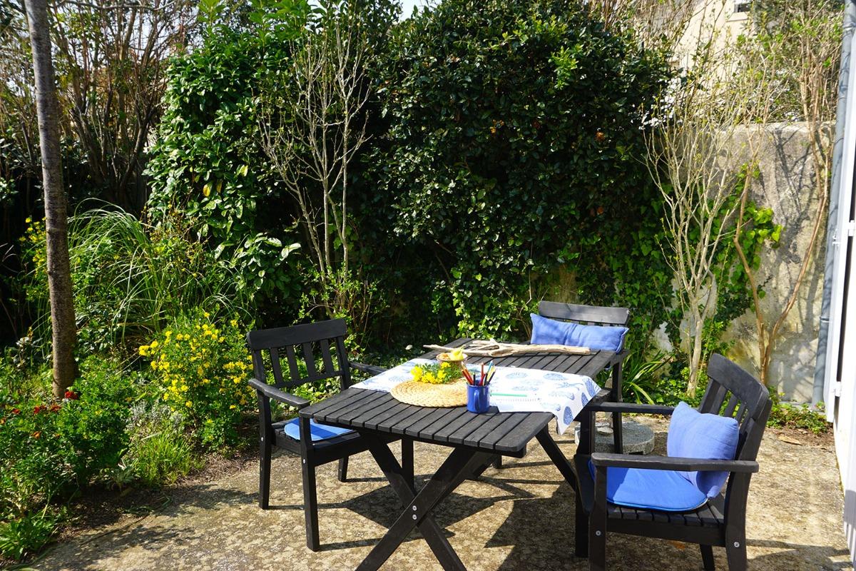 Après midi sur la terrasse - Location de vacances - Fouras