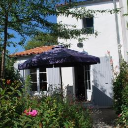 Terrasse arborée - Location de vacances - Fouras