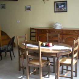 salle à manger - Location de vacances - Saint-Froult