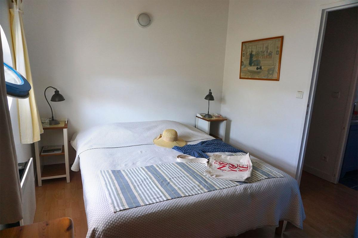 Chambre avec un lit double - Location de vacances - Fouras
