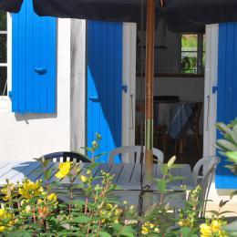 Un salon spacieux  - Location de vacances - Fouras