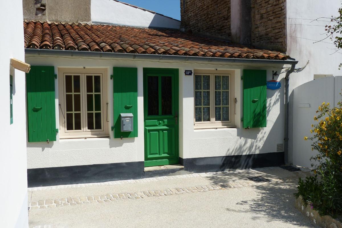 PORTE PRINCIPALE DONNANT SUR CUISINE - Location de vacances - Les Portes-en-Ré