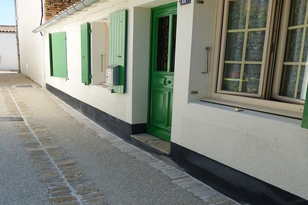ENTREE PRINCIPALE DONNANT SUR CUISINE - Location de vacances - Les Portes-en-Ré