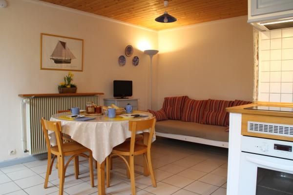 Coin salon / salle à manger - Location de vacances - Fouras