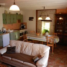 chambre avec lit double - Location de vacances - Rochefort