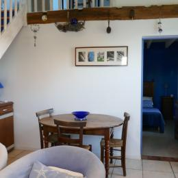 le séjour cuisine - Location de vacances - Rochefort