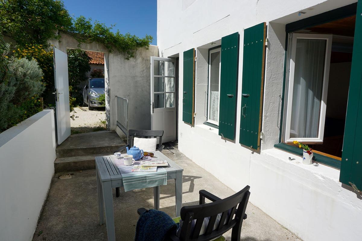 Entrée sur votre terrasse - Location de vacances - Fouras