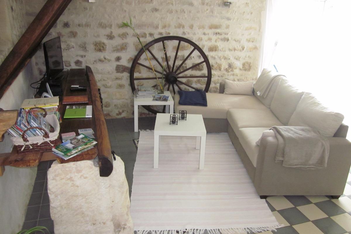 coin salon - Location de vacances - Ozillac