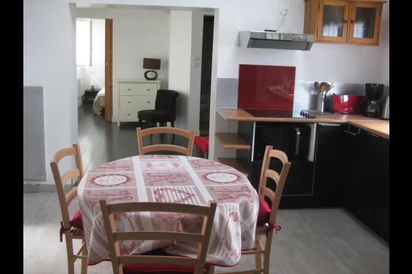 Cuisine séjour - Location de vacances - La Rochelle