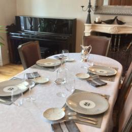 Table d'hôtes - Chambre d'hôtes - Mortagne-sur-Gironde
