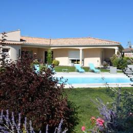 Jardin - Chambre d'hôtes - Meschers-sur-Gironde