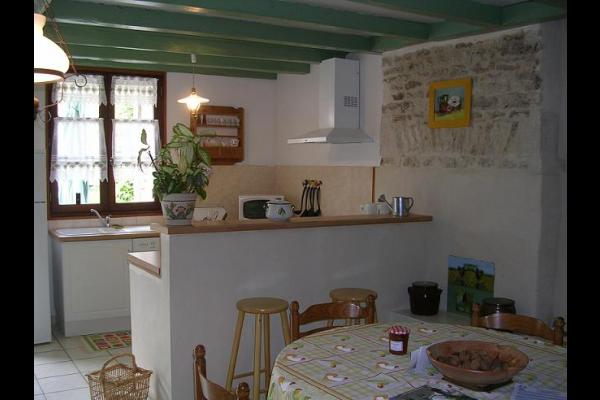 cuisine - Location de vacances - Bernay-Saint-Martin