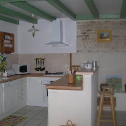 cuisine bis - Location de vacances - Bernay-Saint-Martin