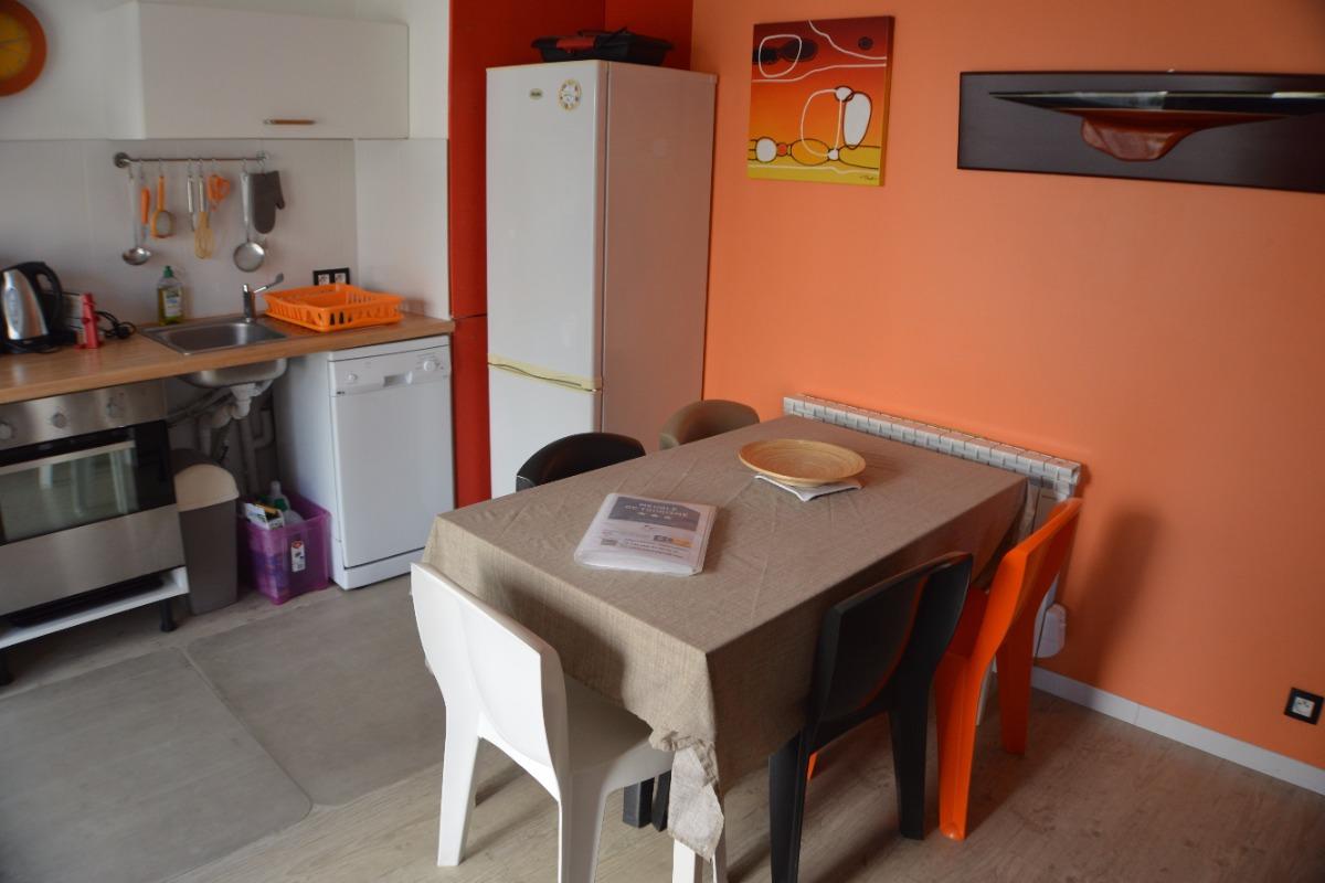 Espace repas - ré de chaussée - Location de vacances - Meschers-sur-Gironde