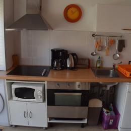 Cuisine - ré de chaussée - Location de vacances - Meschers-sur-Gironde