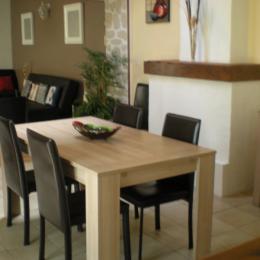 salle a manger - Location de vacances - Saint-Froult