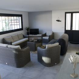coin salon - Location de vacances - La Rochelle
