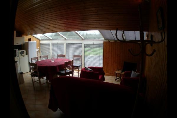 Vue d'ensemble Séjour cuisine - Location de vacances - Landrais