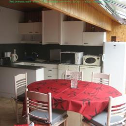 La cuisine - Location de vacances - Landrais